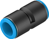 QS-5/8T-U Push-in connector -- 190589 - Image