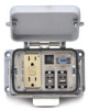 Size 48B Panel Interface Connector: (1) outlet, (1) DB9, (2) USB -- ZP-PGA-48-400