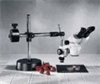 Cole-Parmer Binocular Stereozoom Microscope, 10x-40x, boom stand; 115V -- GO-48920-10