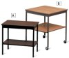 BARRICKS Economical Work Tables -- 4188234
