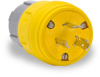 20A Electrical Plug: watertight, locking, NEMA L6-20 -- 26W48BRY