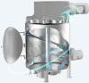 Vertical Single-Shaft Mixer / Ribbon Blender -- VM 200