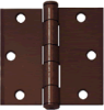 Architectural Black Iron Hinges -- 778116