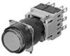 Illuminated Pushbutton Switch With Extended Round Head -- AH164-L, L5 - Image
