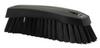 scrub brush w/stiff bristle black -- 61993 -- View Larger Image