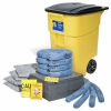 PIG Spill Kit in High-Visibility Mobile Container -- KIT273