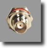 TNC Bulkhead Connector For Micro Loss Coax -- RFC-11Z