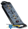 ITW Linx SP6DBS Advanced Series 6 Outlet Surge Protector.. -- SP6DBS -- View Larger Image