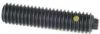 Flat Hex Nose Steel Plunger: 5/16-18 Thread, End Force = 0.50 Initial x 8 Final with Locking Element -- 57302