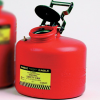 3-Gallon Red Polyethylene Can with Stainless Arrestor -- CAN154