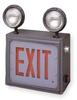 Emergency Lighting/Exit Sign,120/277V -- 1PJG1