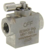 Ultra Miniature Selector Ball Valve -- MBVT-1010-303 -- View Larger Image
