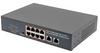 10 Port Gigabit PoE Ethernet Switch, 2x RJ45 10/100/1000TX, 8x RJ45 10/100/1000TX with PoE+ 802.3at/af 120Ws, Desktop, Rack or Wall Mount