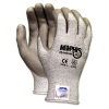 Memphis Dyneema Polyurethane Gloves, Small, White/Gray -- 9672S