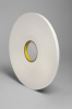 3M 4462 White Foam Mounting Tape - 1/2 in Width x 72 yd Length - 1/32 in Thick - 24313 -- 021200-24313 -- View Larger Image