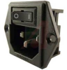 POWER ENTRY MODULE, 1U HEIGHT POWER, 15A, 5 LOAD/SWITCH TERMINALS -- 70185958