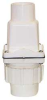 Dual-check Valve,1-1/2 In,Socket,PVC -- 5CZH1