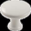 Modern Knob, White -- 814528