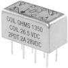 HIGH FREQUENCY RELAY, 26.5V, DPDT -- 78H2195