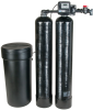 Water Softeners with W100T Twin Alternating Valves -- W100T Twin Alternating Series - Image