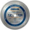 Oshlun SBF-120100 12-Inch 100 Tooth TCG Saw Blade with 1-.. -- SBF-120100