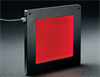 100mm, Red, Flat Dome Illuminator -- NT62-529 - Image
