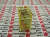 RELAY DPDT 24VDC WITH CHECK BUTTON -- RH2BUCDC24V
