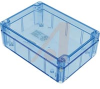 ENCLOSURE,TRANSPARENT BLUE POLYCARBONATE,NEMA,IEC52,IP65,6.73LX4.76WX2.17HIN -- 70147747