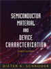 Semiconductor Material and Device Characterization -- 9780471749097