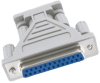 DB9 Female to DB25 Female Adapter Molded -- 30D1-B3 - Image