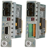 Managed Serial RS422/485 to Fiber Media Converter -- iConverter® RS422/485