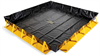 PIG Collapse-A-Tainer Spill Containment Berm 12' x 12' x 1', 10' W x 10' L x 1' H Sump Dimensions, 748 gal. Sump Capacity Portable & Collapsible Spil -- PAK793