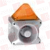 PFANNENBERG 23361104055 ( 10 JOULES FLASHING STROBE BEACON WITH 80 TONE, 4-STAGE SOUNDER, 110 DB (A), 187 - 255 VAC, GREY HOUSING, AMBER LENS ) -- View Larger Image