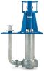 Non-clogging Vertical Cantilever Sump Pumps -- FV
