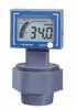 Digital Ultrasonic Drum Level Gauge; Battery and 24 VDC Powered, 4-20 mA Out -- GO-68349-53