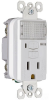Combination Switch/Receptacle -- S1595-NTLWCC8 -- View Larger Image