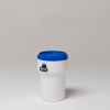 40 Liter Nestable Plastic Drum -- 7240 - Image