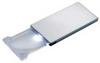 Illuminated Pocket Magnifier,2x,LED -- 11W398