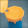 Drum Funnel with Lid,26.5 In,with Spout -- 3TZU3