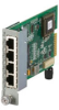 Dynamic Fiber Conversion System, Switch Module, 4-Port 10/100 Ethernet RJ-45 -- LMC3050C