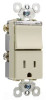 Combination Switch/Receptacle -- TM818-TRPLICC -- View Larger Image