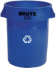 Rubbermaid Brute® 32-Gallon Recycling Container - 2632-73 (Blue) -- RM-2632-73BLU