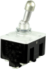 TL Series Toggle Switch, 4 pole, 3 position, Screw terminal, Locking Lever -- 4TL1-10A -- View Larger Image