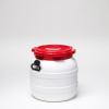 42 Liter Wide Neck Plastic Drum -- 7042 - Image