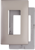 Decorative Screwless Wall Plate with Plastic Subplate -- SWP26NI
