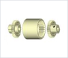 BoWex® Double Cardanic Curved-Tooth Gear Coupling -- Junior M