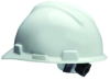 Ratchet Suspension Hard Hat -- MSA-818064-OFA-WHITE