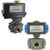 DWYER 3BV3SR202 ( SERIES 3BV3 AUTOMATED BALL VALVES - 3- WAY SS NPT ) -Image