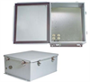 14x12x6 Inch 120 VAC Steel Weatherproof Enclosure with Heating System -- NBS141206-1H0 -Image