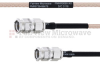 SMA Male to SMA Male MIL-DTL-17 Cable M17/113-RG316 Coax in 8 Inch -- FMHR0090-8 -Image